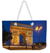 Twilight At Arc De Triomphe Weekender Tote Bag