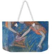Two Dancers Weekender Tote Bag by Edgar Degas