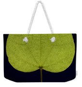 Two Lobed Leaf Weekender Tote Bag