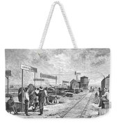 Underground Village, 1874 Weekender Tote Bag