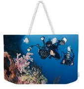 Underwater Photography Weekender Tote Bag