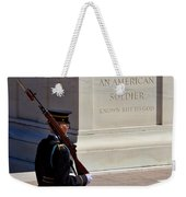 Unknown Soldier Weekender Tote Bag
