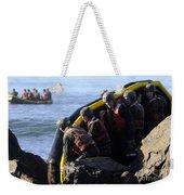 U.s. Navy Seal Candidates Participate Weekender Tote Bag