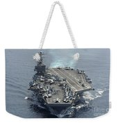 Uss Abraham Lincoln Transits The Indian Weekender Tote Bag