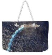 Uss Green Bay Transits The Indian Ocean Weekender Tote Bag