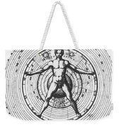 Utrisque Cosmi, Title Page, 1617 Weekender Tote Bag