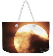Venus Transiting In Front Of The Sun Weekender Tote Bag