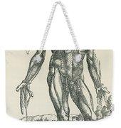 Vesalius De Humani Corporis Fabrica Weekender Tote Bag by Science Source