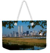 View From Liberty State Park Weekender Tote Bag