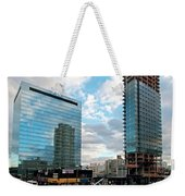 View Interrupted Weekender Tote Bag