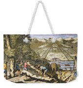 View Of Savannah, Georgia Weekender Tote Bag