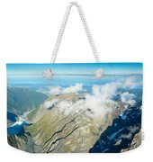 View On To Fox Glacier In South New Zealand Weekender Tote Bag