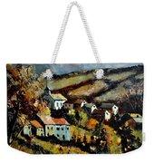 Village In Fall Weekender Tote Bag