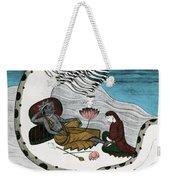 Vishnu And Lakshmi Weekender Tote Bag