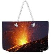 Vulcanian Eruption Of Anak Krakatau Weekender Tote Bag