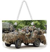Vw Iltis Jeeps Used By Scout Or Recce Weekender Tote Bag