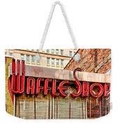 Waffle Shop Weekender Tote Bag