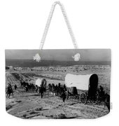 Wagon Train Weekender Tote Bag