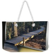 Walk Bridge Weekender Tote Bag