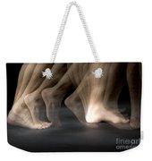 Walking Weekender Tote Bag by Ted Kinsman