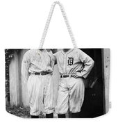 Walter Johnson (1887-1946) Weekender Tote Bag by Granger