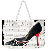 Waltzing Pumps Weekender Tote Bag