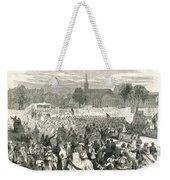 Washington: Abolition, 1866 Weekender Tote Bag