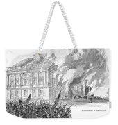 Washington Burning, 1814 Weekender Tote Bag