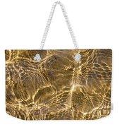 Water And Sand Ripples Weekender Tote Bag