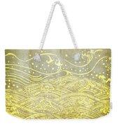 Water Pattern On Old Paper Weekender Tote Bag by Setsiri Silapasuwanchai