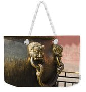 Water Vessel At Forbidden City Weekender Tote Bag