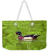 Water Wood Duck Weekender Tote Bag