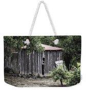 Watercolor Barn Weekender Tote Bag by Joan Carroll