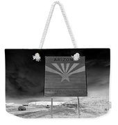 Welcome Sign Weekender Tote Bag