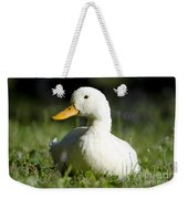 White Duck Weekender Tote Bag