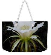 White Echinopsis Flower  Weekender Tote Bag