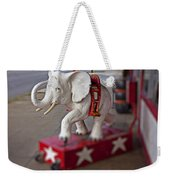 White Elephant Weekender Tote Bag