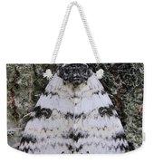 White Underwing Moth Weekender Tote Bag