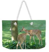 Whitetail Fawns Weekender Tote Bag