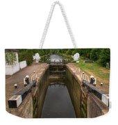 Wide Water Lock Weekender Tote Bag