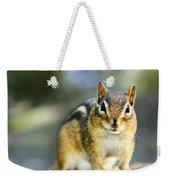 Wild Chipmunk Weekender Tote Bag
