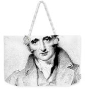 William Hyde Wollaston, English Chemist Weekender Tote Bag