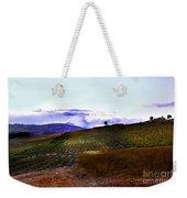 Wine Vineyard In Sicily Weekender Tote Bag