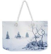 Winter On The Moor Weekender Tote Bag