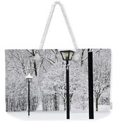 Winter Park Weekender Tote Bag