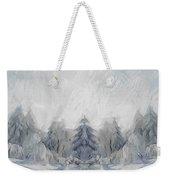 Wintertime Weekender Tote Bag