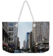 Wisconsin Ave 1 Weekender Tote Bag
