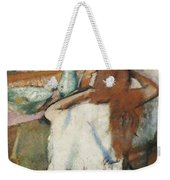 Woman At Her Toilet Weekender Tote Bag