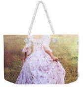 Woman In A Meadow Weekender Tote Bag