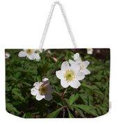 Wood Anemone Weekender Tote Bag